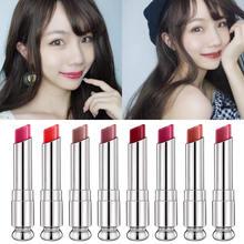 Matte Velvet Lipstick Moisturizing Lip Glaze Sexy Red Make Up Beauty Cosmetic Star