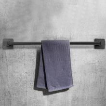 50cm Bathroom Kitchen Towel Hanging Holder Stainless Steel Wall Mounted Towels Storage Shelf Rack Houshold towel bar