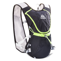 Large Breathable Mesh Backpack Hydration Water Bag Pack Hiking Cycling Bladder