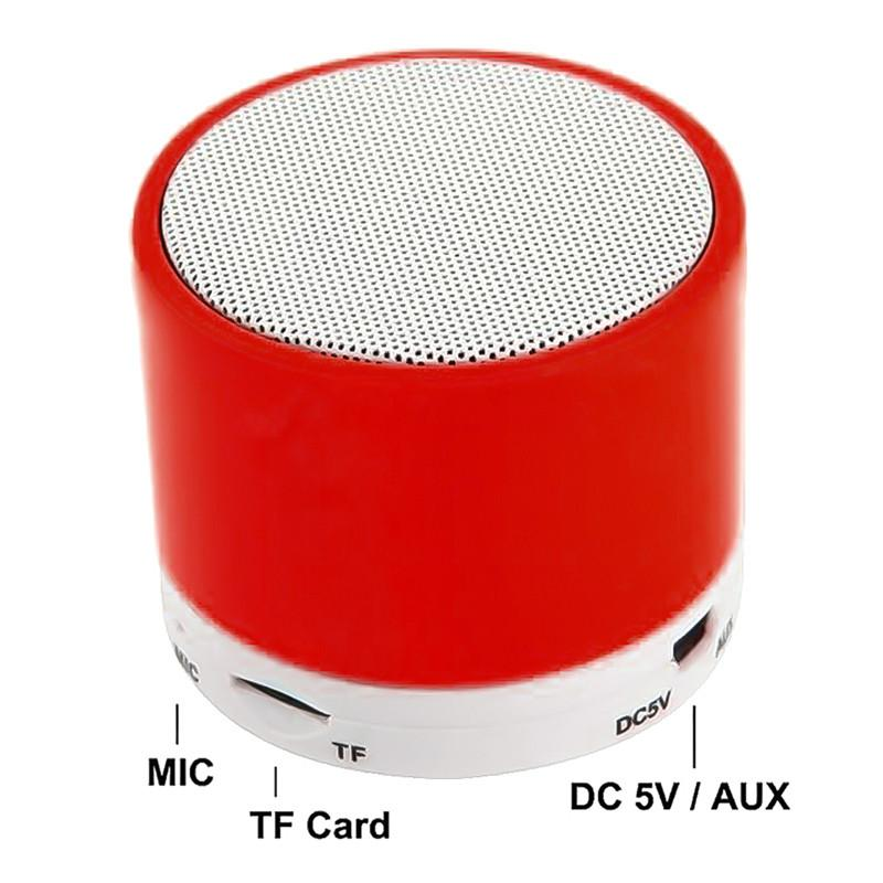 S10 Bluetooth Speaker U Disk TF Card DC 5V Universal Mobile Phone Music Mini Wireless Outdoor Portable Subwoofer mobile phone