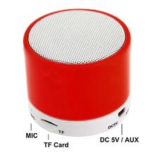 S10 Bluetooth Speaker U Disk TF Card DC 5V Universal Mobile Phone Music Mini Wireless Outdoor Portable Subwoofer