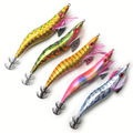 3 5 # Top qualität Gold und Silber tintenfisch jigs Japan typ angeln tintenfisch lockt Harte angeln locken starke angelhaken-in Angelköder aus Sport und Unterhaltung bei