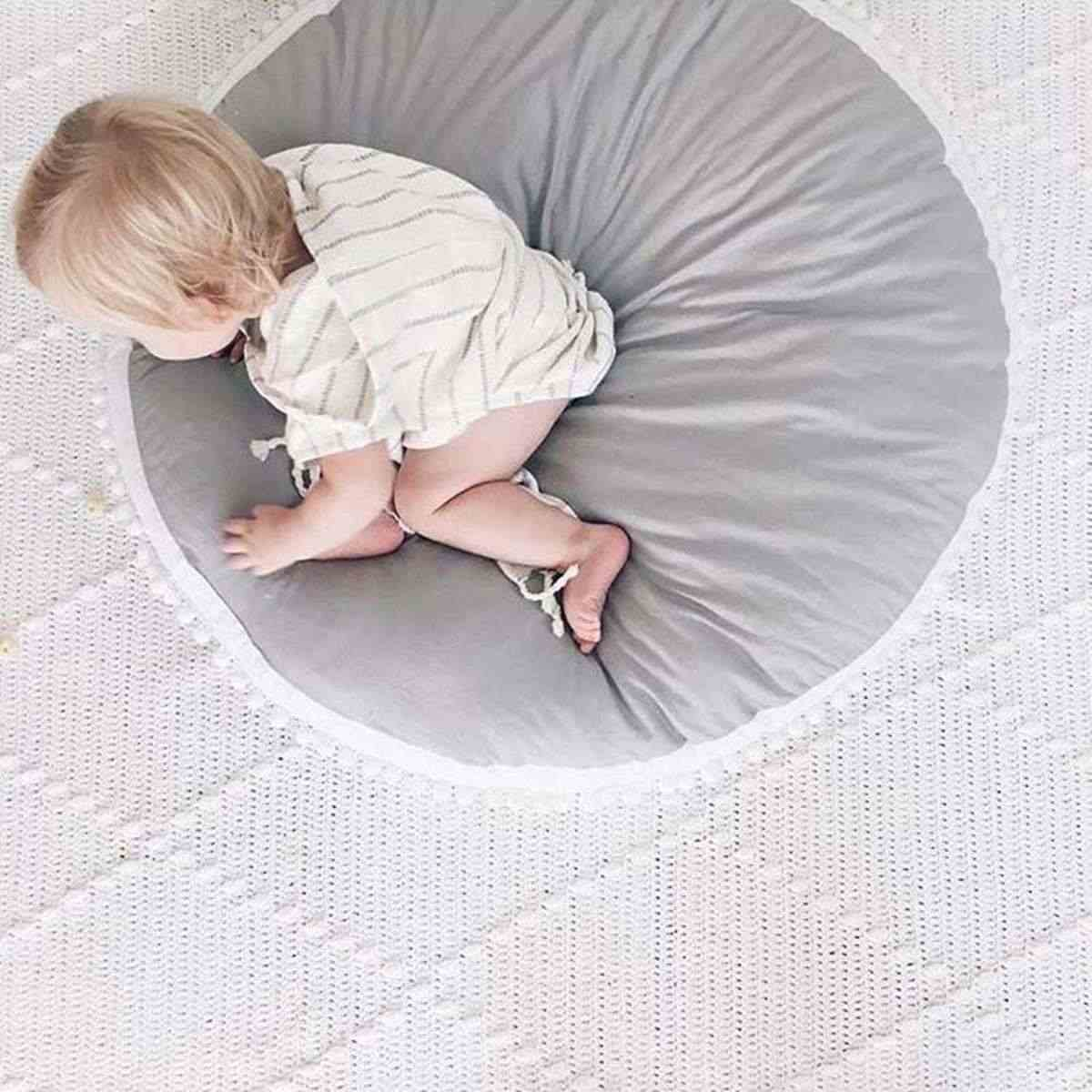 Nordic Baby Bean Bag Infant Nursling Feeding Seat Sofa Chair Baby Crawling Mat Newborn Bed Crib Kid Children Room Decoration