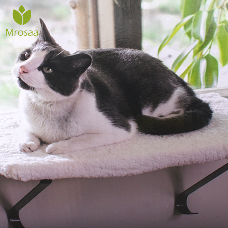 Animal de compagnie chat balcon hamac chats nid garder au chaud fenêtre mont animal hamac confortable Pet lit nid couverture coussin coussinets tapis