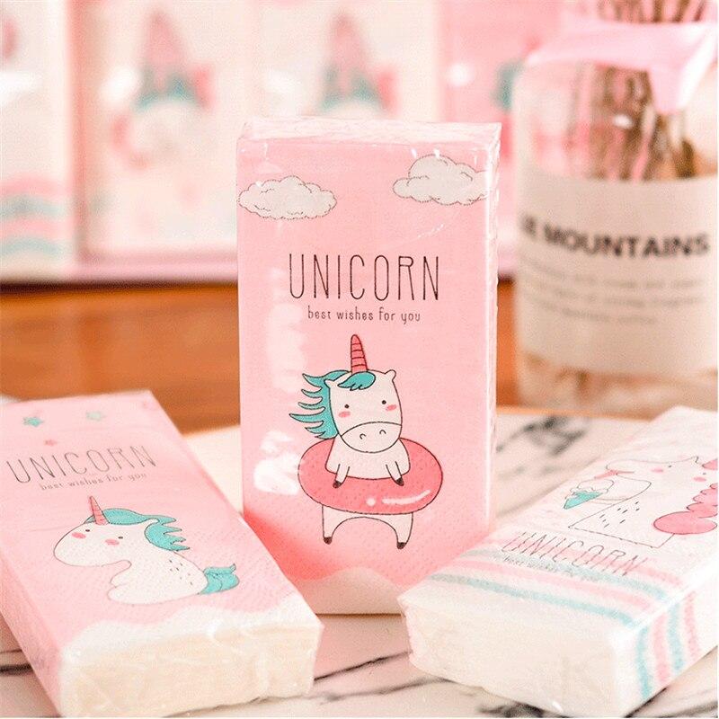 Unicorn Party 4pack Wood Pulp Unicorn Paper Napkin Baby