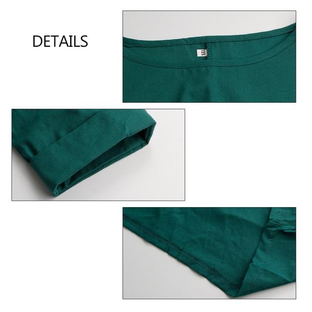Kaftan Womens Maxi Dress Summer O Neck Long Sleeve Spring Cotton Linen Gown Robe Dresses Plus Size Large Size Dresses 5