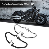 2pcs Motorcycle Front Bumper Guard Cover Tank Protector for Indian Scout Sixty 2016 2019 Accessoire Motorcycle Ornamental