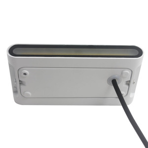 Image 2 - 북유럽 LED 벽 Sconce 옥외 점화 Decotration 계단 정원 포치 빛을위한 방수 IP65 알루미늄 AC85 265V