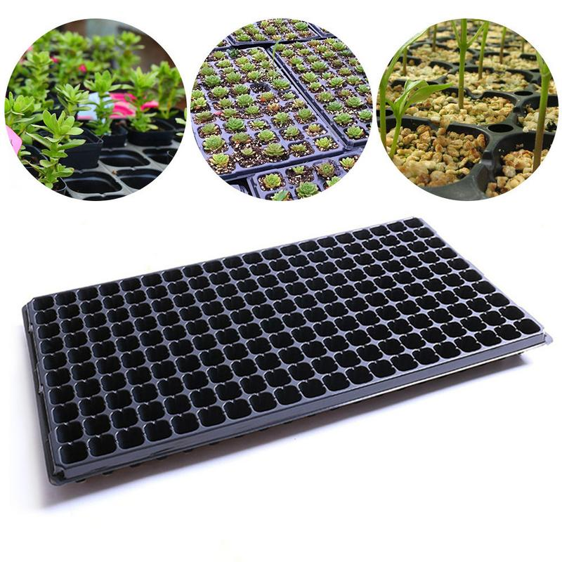 200 Cups Seedling Starter Cell Seedling Germination Plant Propagation Box Vegetable Seed Gardening Seed Tray Flower Pot