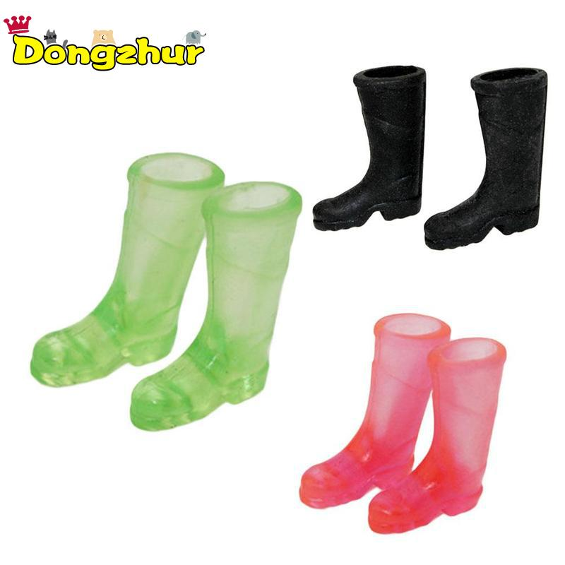 Miniature Dollhouse FAIRY GARDEN Accessories ~ Green Rubber Rain Work Boots NEW