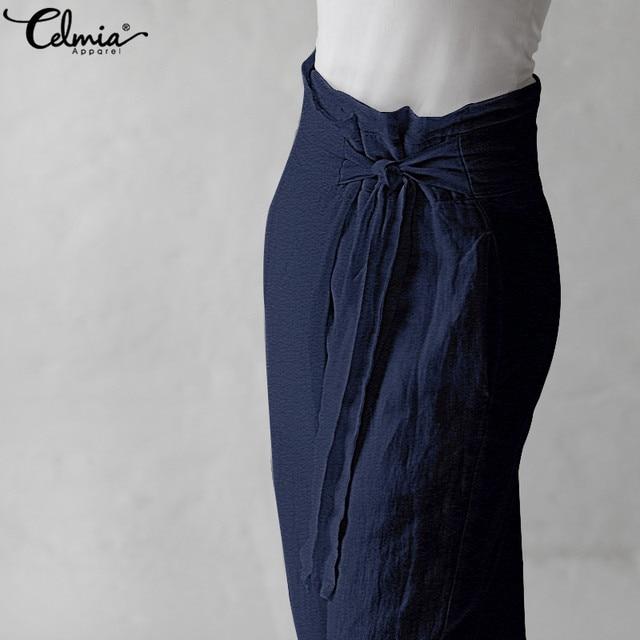 Vintage Linen Wide Leg Pants 5