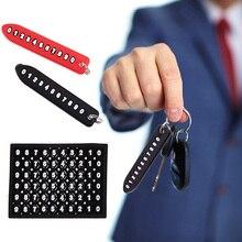 Брелок для ключей с защитой от потери номера телефона автомобильный брелок для ключей Автомобильный брелок для ключей украшение интерьера ...
