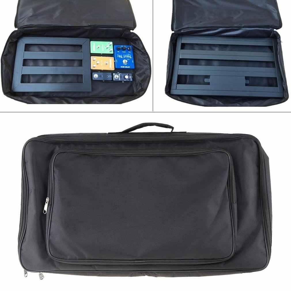 Портативный эффект pedalboard сумка для электрогитары педаль доска чехол для хранения рюкзак