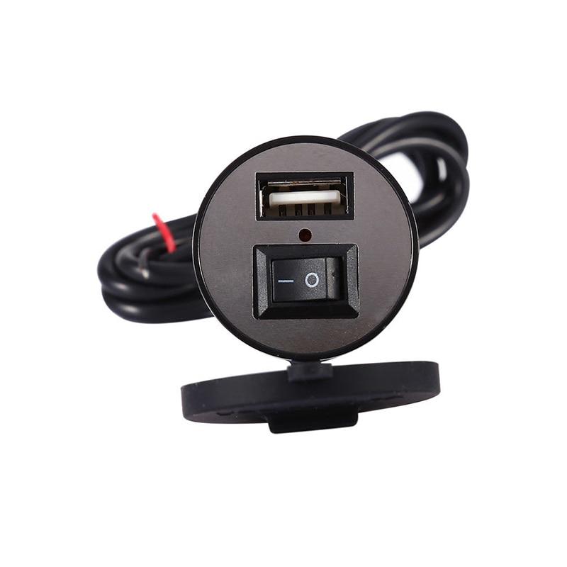 12V-24V USB Charger Motorcycle Mobile Phone Power Socket Adapter Waterproof12V-24V USB Charger Motorcycle Mobile Phone Power Socket Adapter Waterproof