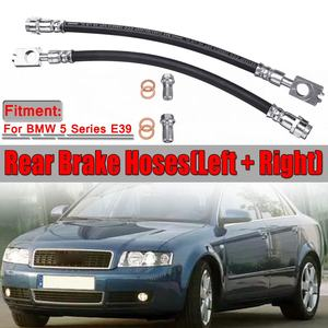 2pcs Car Rear Axle Brake Hoses
