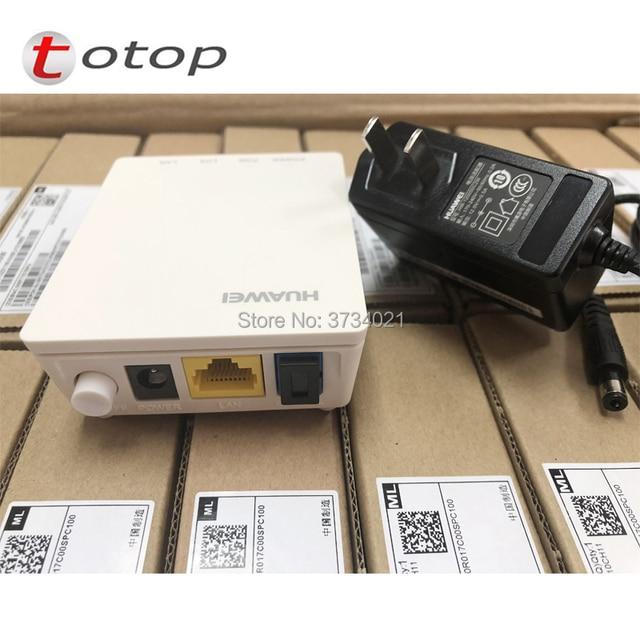 5Pcs/Lot 99% New 1GE onu Huawei HG8010H EPON ont optical network terminal English Firmware epon ont bridge mode 1ge HG8010H ONT