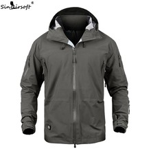 New Clothing Mens Jacket Coat Military Tactical Outwear US Army Breathable Nylon Light Windbreaker