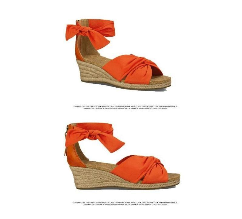 Tresse Bout À Sandales Fond Summer Hot Dames Orange Chaussures As Arc Talons Sexy Robe Picture Ouvert Femme Compensées Bretelles Cheville as Satin Picture YXaxAxw