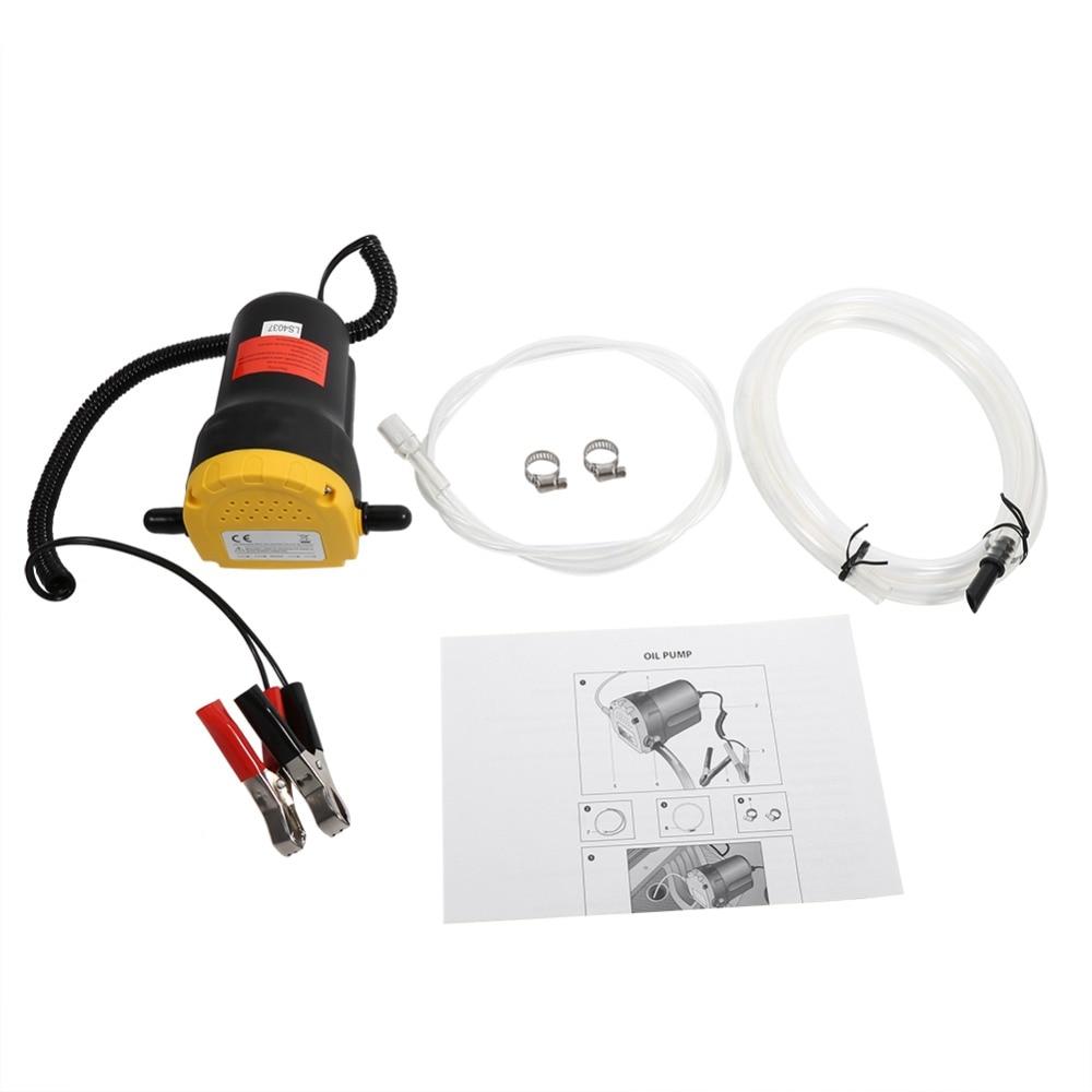 12 V Diesel Öl Flüssigkeit Transfer Extractor Pumpe Werkzeug Elektrische Absaugung Für Auto Motorrad Boot Werkzeug Pumpen, Teile Und Zubehör Heimwerker