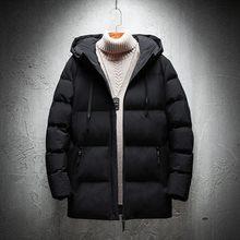 Varsanol invierno grueso Parkas para hombres 2018 nuevo Epaulet Parka  chaqueta de la marca de los hombres de bolsillo-20 grados . 7a8cf005a897