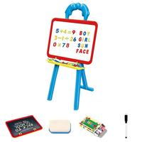 Multifunctional Small Double sided Drawing Board Learning Rack Adjustable Support Frame Puzzle Education Drawing Toys