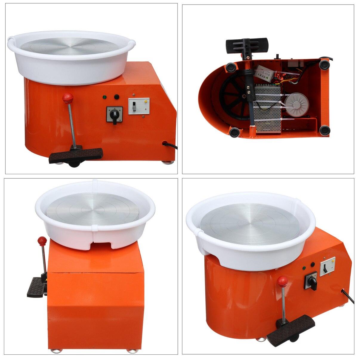 220 V 350 W Électrique Poterie Roue En Céramique Machine 300mm argile céramique Potter Kit Pour Travail En Céramique Céramique - 4