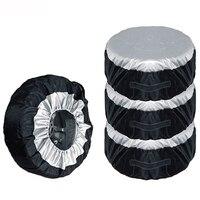 Mayitr 1 pçs universal carro suv 13 19 polegada tote pneu de reposição capa de armazenamento roda saco durável roda de pneus tampas de proteção Acessórios de pneus     -