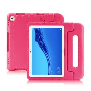 Image 3 - Capa de silicone para huawei mediapad m5 lite 10 10.1, capa de celular para tablet de criança, pc, AGS2 L09 AGS2 W09 DL AL09 w09 em eva capas
