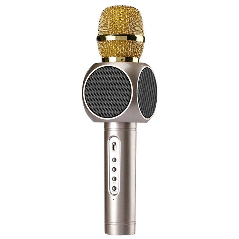 E103 Wireless Microphone Condenser Karaoke Microfono Inalambrico KTV Music Bluetooth Speaker Mikrofon For Smartphone Android I