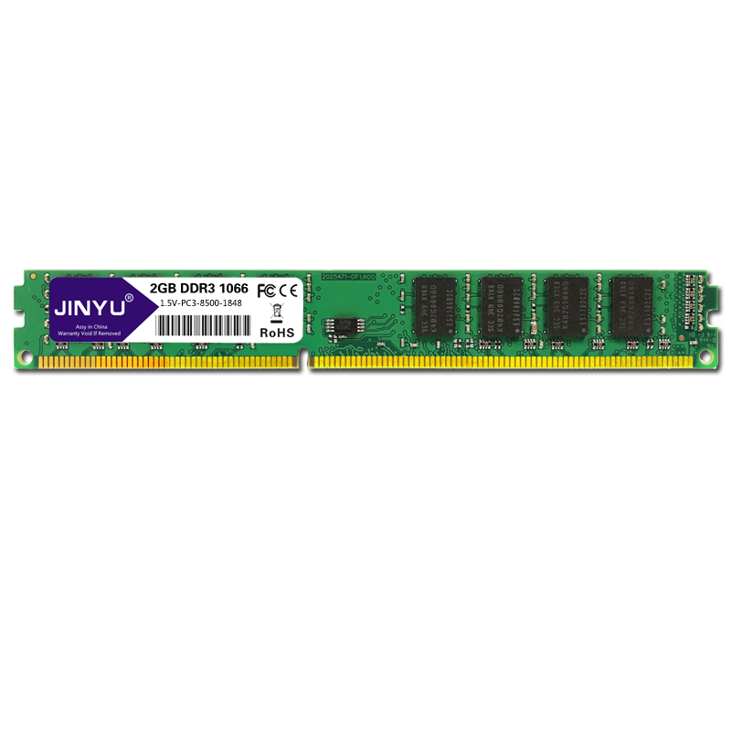 JINYU <font><b>Ddr3</b></font> <font><b>1066mhz</b></font> 1.5V 240Pin <font><b>Ram</b></font> Memory For Desktop image
