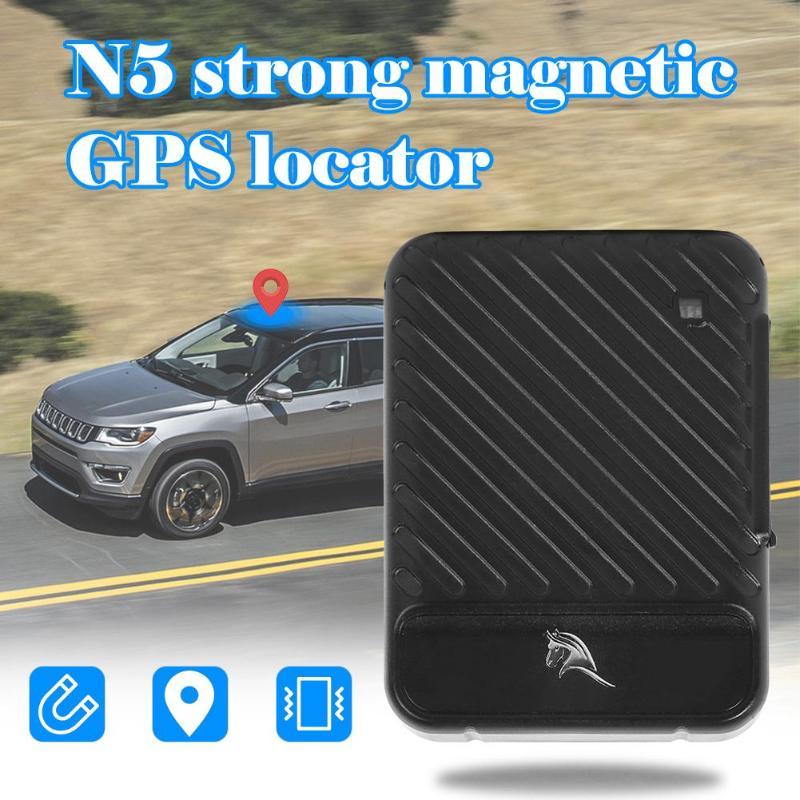 Noir Kelima N5 Mini GPS Tracker voiture véhicule GPS localisateur magnétique dispositif de suivi Anti-perte automatique manuel enregistrement à distance