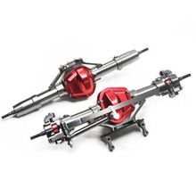 Brand New 1:10 RC Crawler Front & Rear Axle Aluminum Alloy For Cherokee Axial Scx Car High Quality