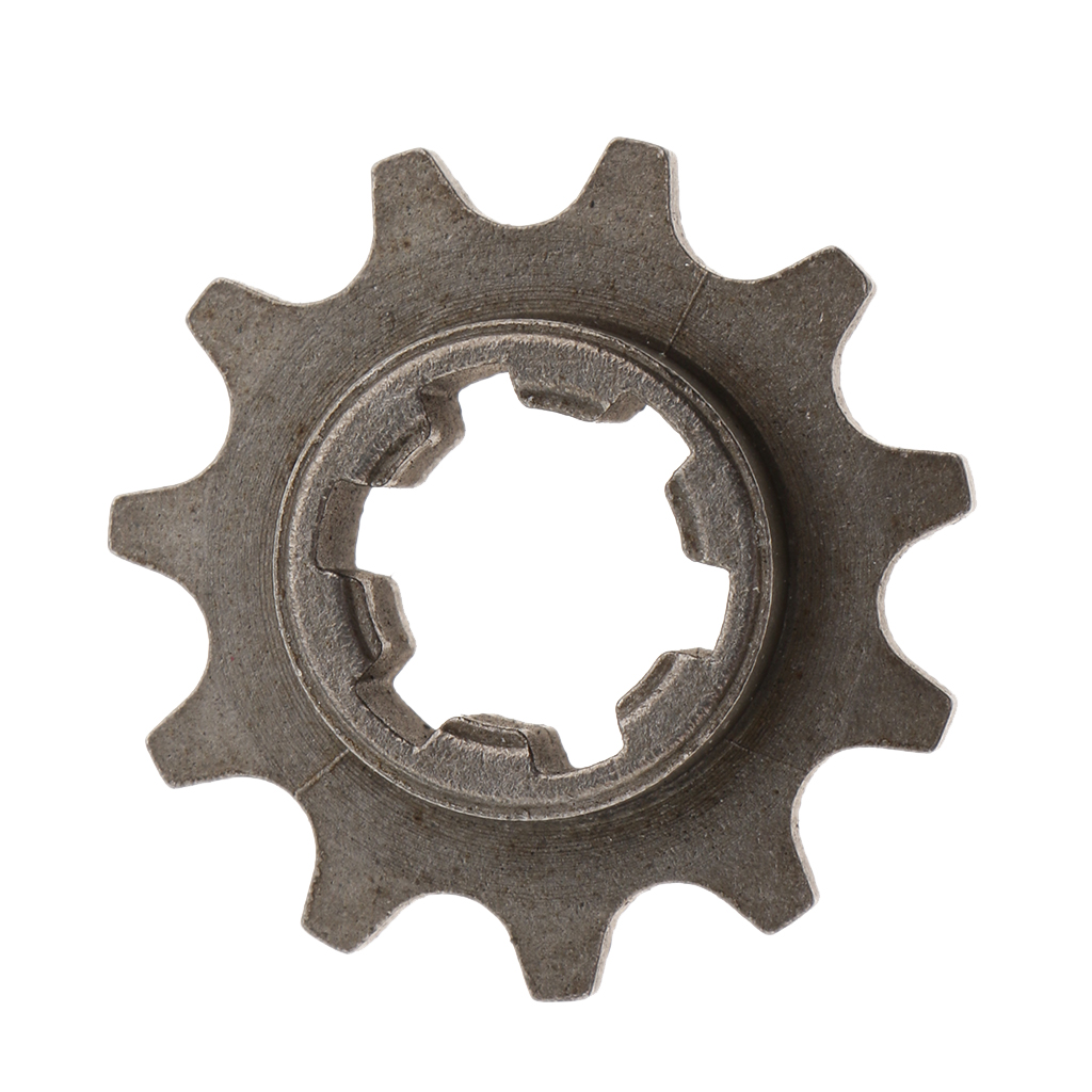49cc Motorcycle 8mm Chain T8F 11 Tooth Front Pinion Sprocket Cog Motorcycles Drive & Gears Accessories