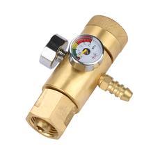 0,4-25 МПа мини-регулятор давления Редуктор давления кислорода и газа регулятор расхода воздуха Манометр измерительные инструменты