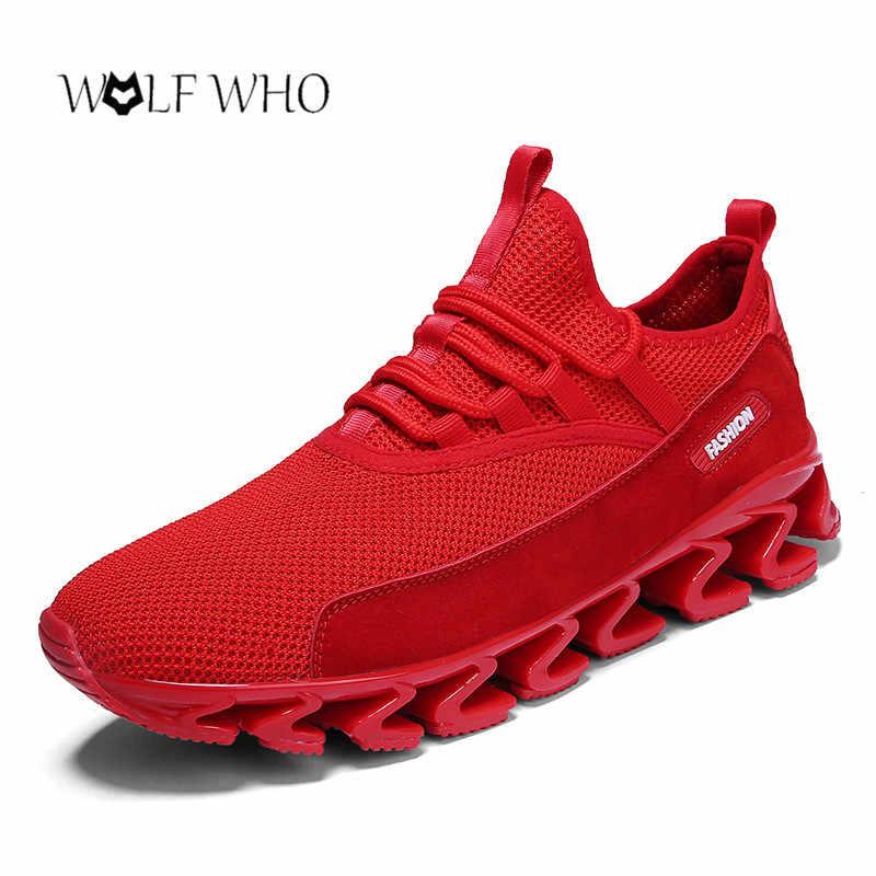 2019 кроссовки мужская обувь весенняя обувь из сетчатого материала дышащая уличная прогулочная обувь мужские повседневные теннисные кроссовки Feminino Zapatos