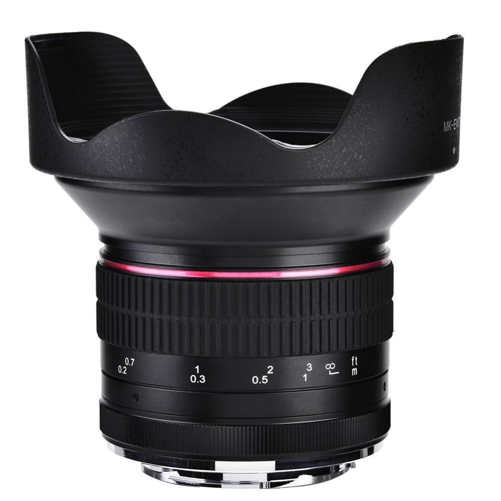 12mm F2.8-f22 Super Grand Angle Fisheye Lentille MF Pour Nikon 1 mount mirrorless V1 V2 J1 J2 j3 J4 J5 etc Caméra