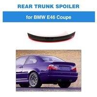 Задний спойлер загрузки губ для BMW 3 серии E46 M3 База купе 2 двери 1998 2005 корпус из углеродного волокна для губ Защитная крышка заднего крыла