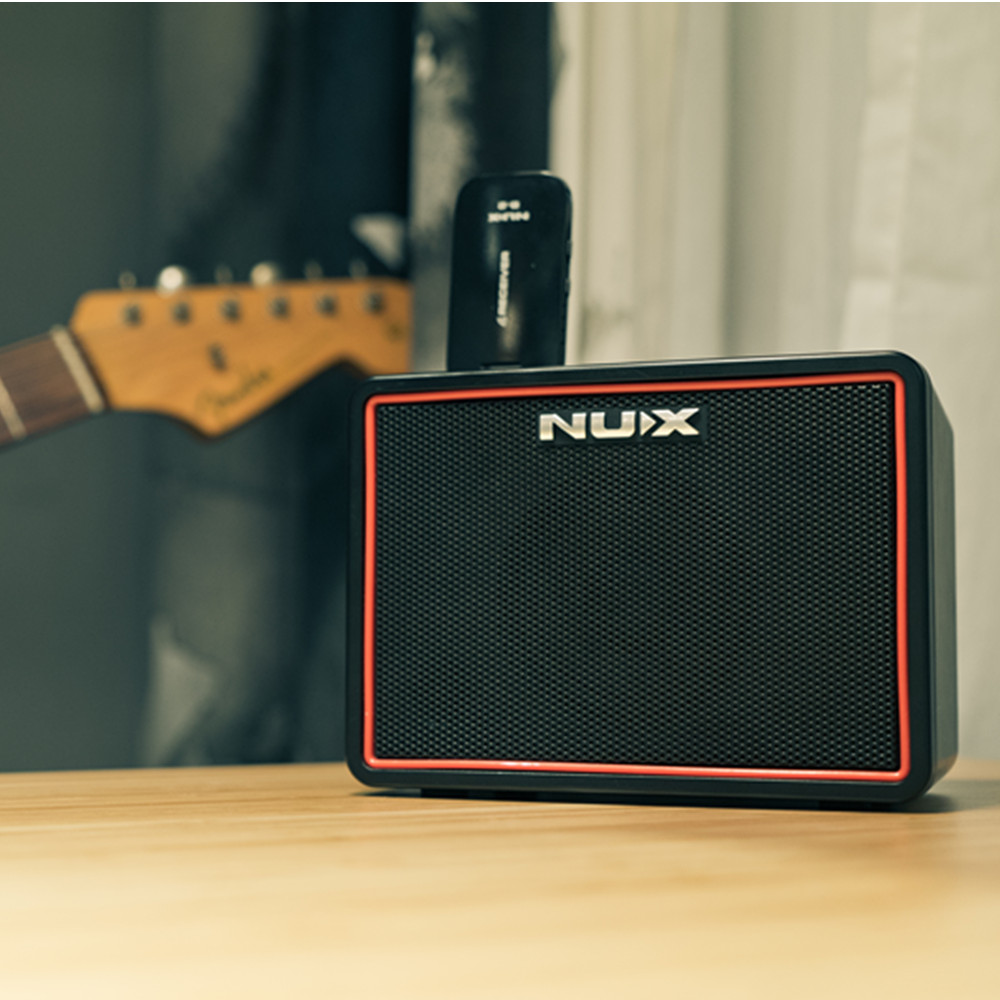New 3 5MM AUX IN Mighty Lite BT Portable Electric Guitar Amplifiers Mini bluetooth Speaker with