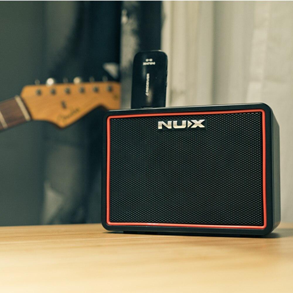 Nouveau 3.5 MM AUX-IN puissant Lite BT amplificateurs de guitare électrique Portable Mini haut-parleur bluetooth avec accessoires de guitare Tap Tempo