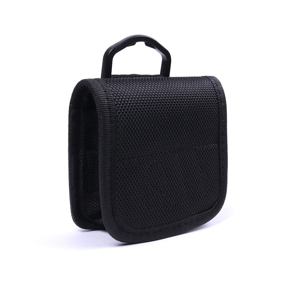 1pcs 8.8x8.5x3cm Black Nylon and fabric Battery Case Holder Can Accommodate Either 4pcs 18650 Batteries Battery Carrying Bag