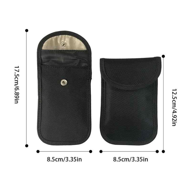 Автомобильный ключ сумка сигнал блокатор сумка RFID/wifi/GSM/LTE/NFC блокатор сотовый телефон сигнал защитный чехол сумка без ключа пульты сумки