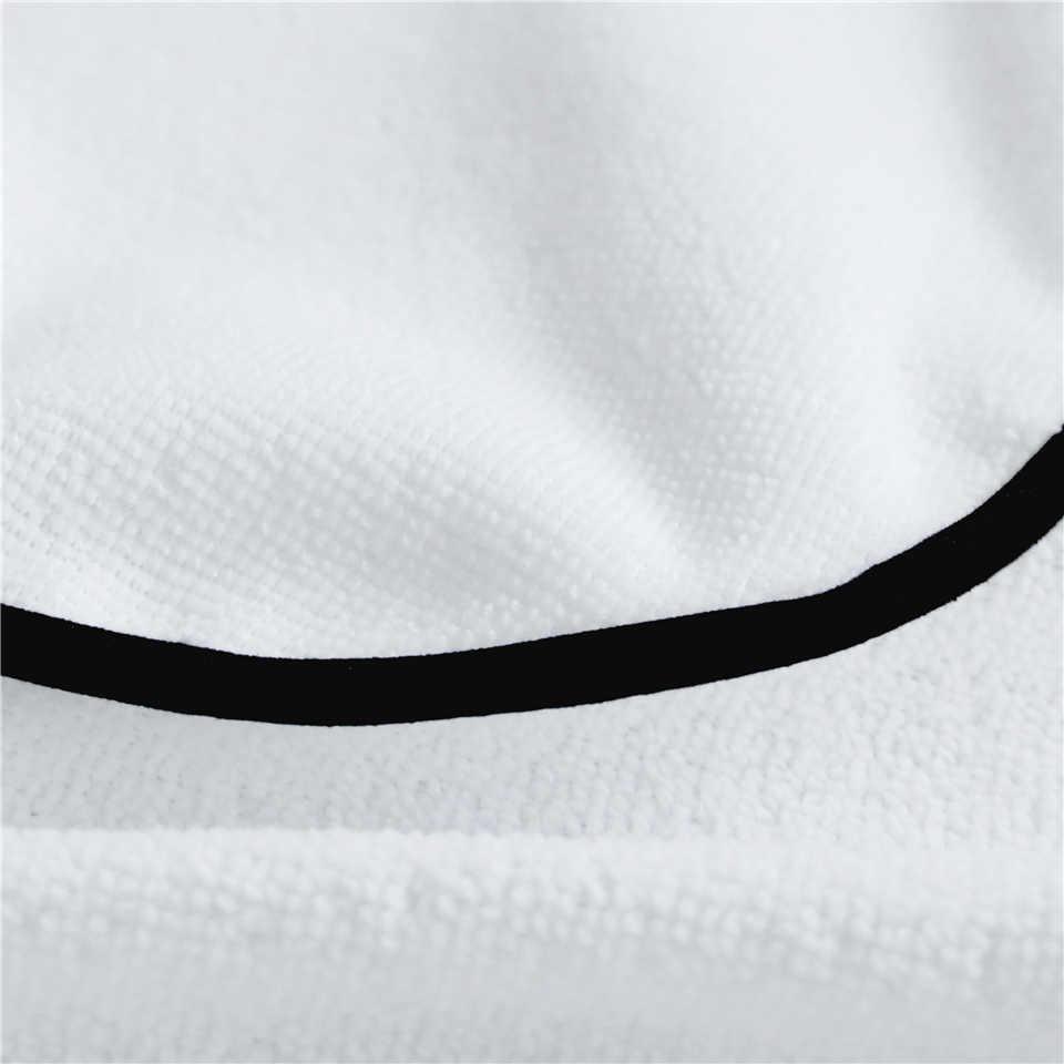Постельное белье, Летающие бабочки, банное полотенце из микрофибры, белое пляжное полотенце для взрослых, Тропическое одеяло, 75x150 см