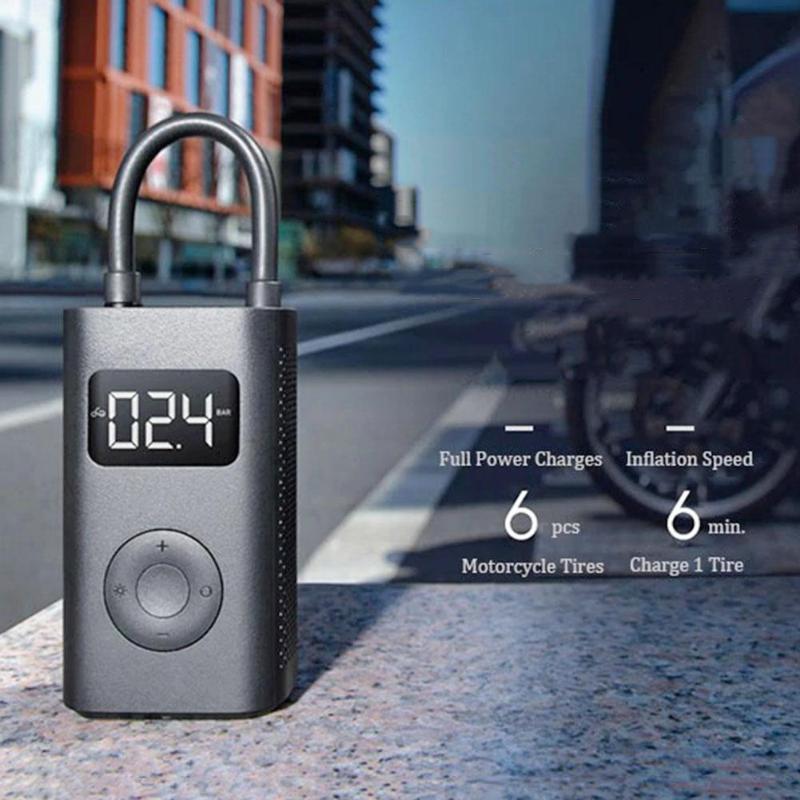Pompe à Air Portable Mi Xiao Mi Mini compresseur de trésor gonflable USB chargeur de pneu pompe à Air électrique Mi accessoires de maison intelligente