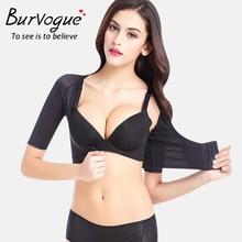 2be646240f Burvogue Women Shapewear Tops Slim Crop Top Shaper Upper Arm Shapers  Compression Posture Body Shaper Underbust