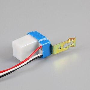 Image 5 - Automatic Auto On Off Photocell Street Light Switch DC AC 220V/110V/24V/12V 50 60Hz 10A Photo Control Photoswitch Sensor Switch