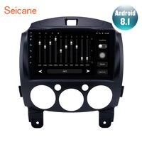 Seicane 2Din 9 inch Android 8.1/7.1 Car Radio Stereo GPS Navigation Head Unit For MAZDA 2/Jinxiang/DE/Third generation 2007 2014