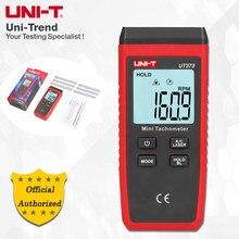 UNI-T ut373 mini tacômetro; tacômetro digital sem contato, medição rpm/medição de contagem, indicação de sobrecarga