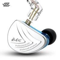 CCAKZ AS16 16BA блоки сбалансированные арматурные Hifi бас в ухо монитор наушники шумоподавление наушники для телефона