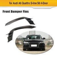 Для Audi A6 Sline/S6 2015 2018 передний бампер автомобиля воздуха вентиляционная решетка отделка