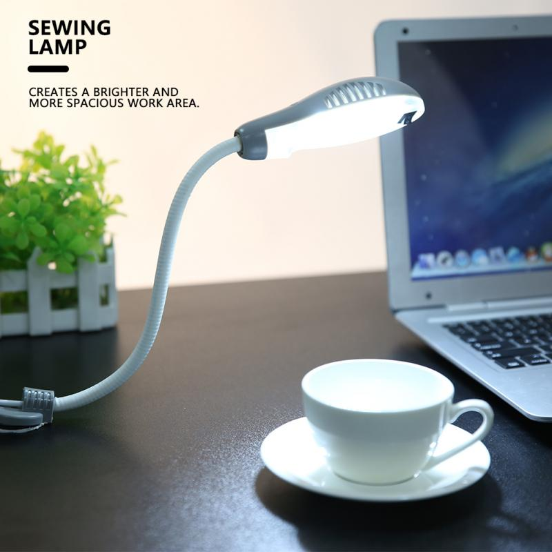 0 6W 18 LED Working Light garage light for Sewing Machine Adjustable Magnetic Base Sewing Lamp CN Plug 220V lampen industrieel in Industrial Lighting from Lights Lighting